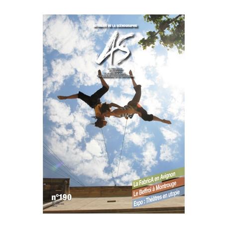 AS n°190 - Actualité de la Scénographie