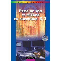 Prise de son et mixage en surround 5.1 + CD