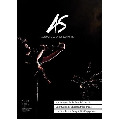 AS n°235 - Actualité de la Scénographie